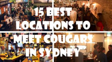 15 Best Locations to Meet Cougars in Sydney