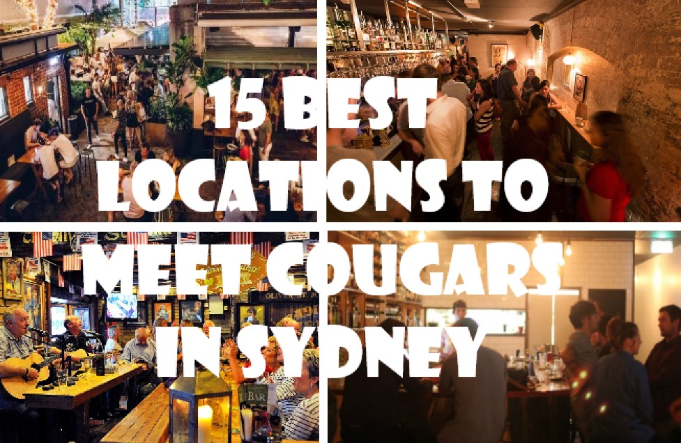 best locations to meet cougars in Sydney