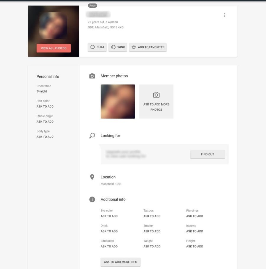 flirt profile