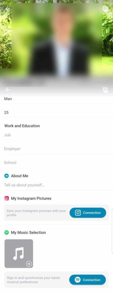 Profiles happn